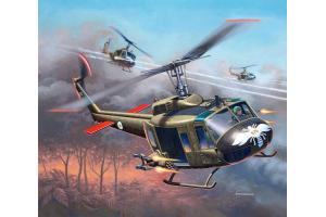 Plastic ModelKit vrtulník 04983 - Bell UH-1H Gunship (1:100)
