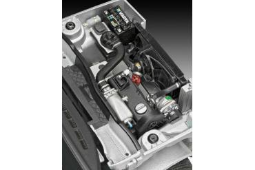 Plastic ModelKit auto 07072 - VW Golf 1 GTI (1:24)
