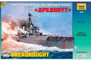 """Battleship """"Dreadnought"""" (1:350) - 9039"""