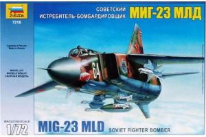 MIG-23 MLD Soviet Fighter (re-release) (1:72) - 7218