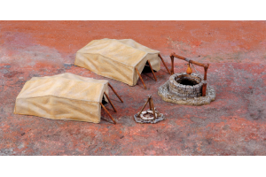 Desert Well and Tents (1:72) - 6148