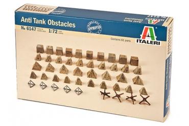 Anti tank obstacles (1:72) - 6147