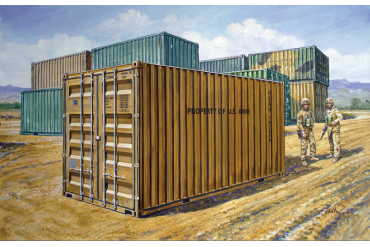 20 ' MILITARY CONTAINER (1:35) - 6516