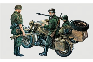 BMW R75 with Sidecar (1:35) - 0315