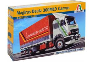 Model Kit auto 3912 - MAGIRUS DEUTZ 360M19 CANVAS (1:24)