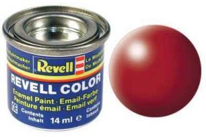 Barva Revell emailová - 32330: hedvábná ohnivě rudá (fiery red silk)