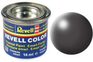 378: hedvábná tmavě šedá (dark grey silk) - Email
