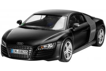 Plastic ModelKit auto 07057 - Audi R8 black (1:24)