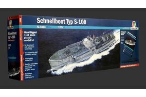Model Kit loď PRM edice 5603 - SCHNELLBOOT TYP S-100 (1:35)