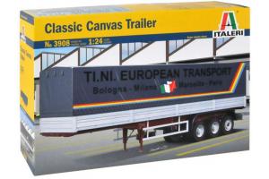 Model Kit návěs 3908 - CANVAS TRAILER (classic) (1:24)