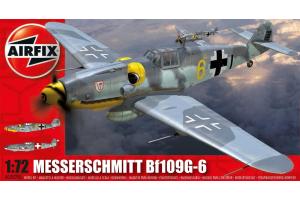 Classic Kit letadlo A02029A - Messerschmitt Bf109G-6 (1:72)
