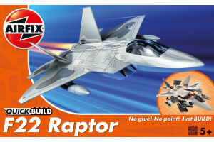 Quick Build Lockheed Martin Raptor - J6005