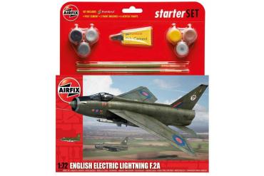 Starter Set letadlo A55305 - English Electric Lightning F2A (1:72)