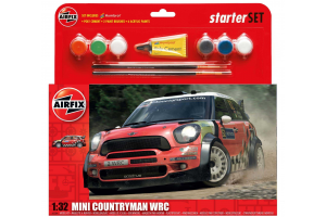 Starter Set auto A55304 - Mini Countryman WRC (1:32)