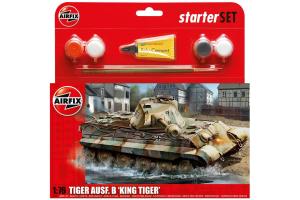 Starter Set tank A55303 - King Tiger Tank (1:76)