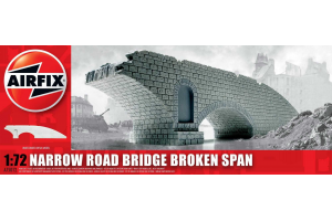 Classic Kit budova A75012 - Narrow Road Bridge Broken Span (1:72)