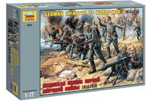 Wargames (WWII) figurky 8083 - German Infantry (1:72)