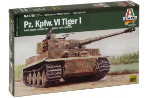 Wargames military 15755 - Pz.Kpfw. VI TIGER I (1:56)