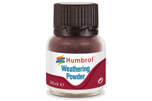 Humbrol Weathering Powder Dark Earth  AV0007 - pigment pro efekty 28ml