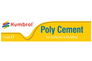 Humbrol Poly Cement Medium AE4021 - lepidlo na plasty 12ml tuba