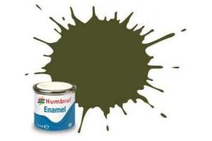 Humbrol barva email AA1688 - No 155 Olive Drab - Matt - 14ml