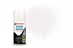 Humbrol sprej akryl lak AD6049 - No 49 Varnish Matt 150ml