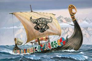 Loď  Vikingů  (1:50) - 05403