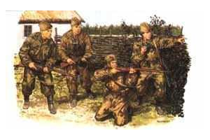 Model Kit figurky 6068 - RED ARMY SCOUTS&SNIPERS (1:35)