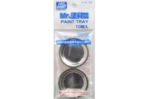 Mr. Paint Tray - kovové mističky 10ks - D174