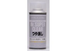 Mr. Super Clear Flat - lak matný 170ml - B514