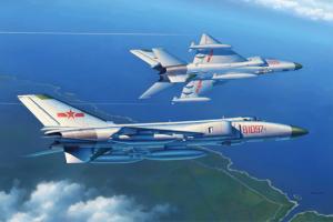 PLA J-8B fighter (1:48) - 02845