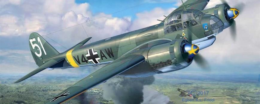Stavba Ju-88 A4 1:48